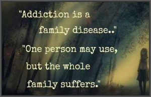 addiction is a family disease